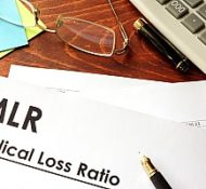 an MLR form that allows policyholders to make claims for medical loss ration rebates from insurance agencies