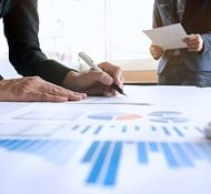 a business consulting firm conducting a business valuation in order to help a company understand how much they have grown and strive to improve