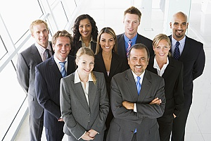 important business people at a company which has bought key person insurance for each of them