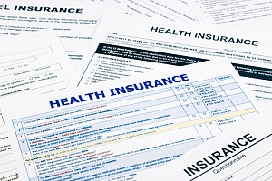 a health insurance application that a family will fill out