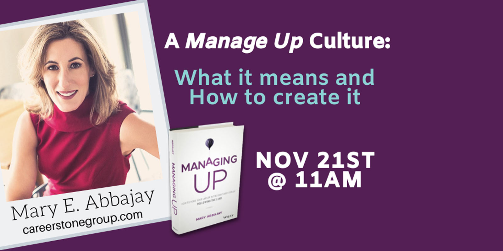 BBG Webinar A Manage Up Culture