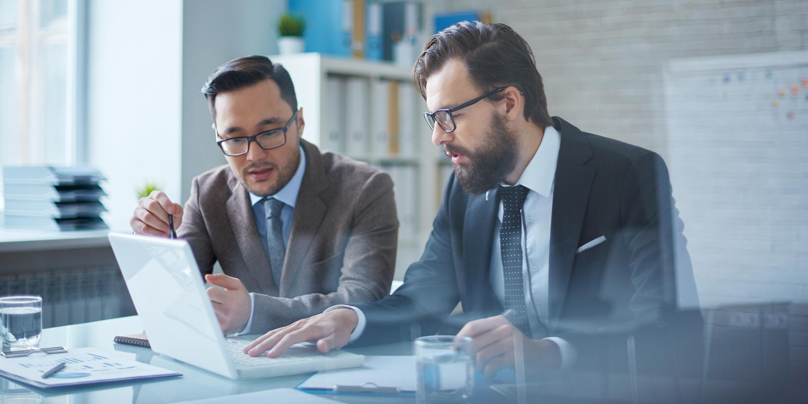 Business Consultant working with company to develop effective strategies