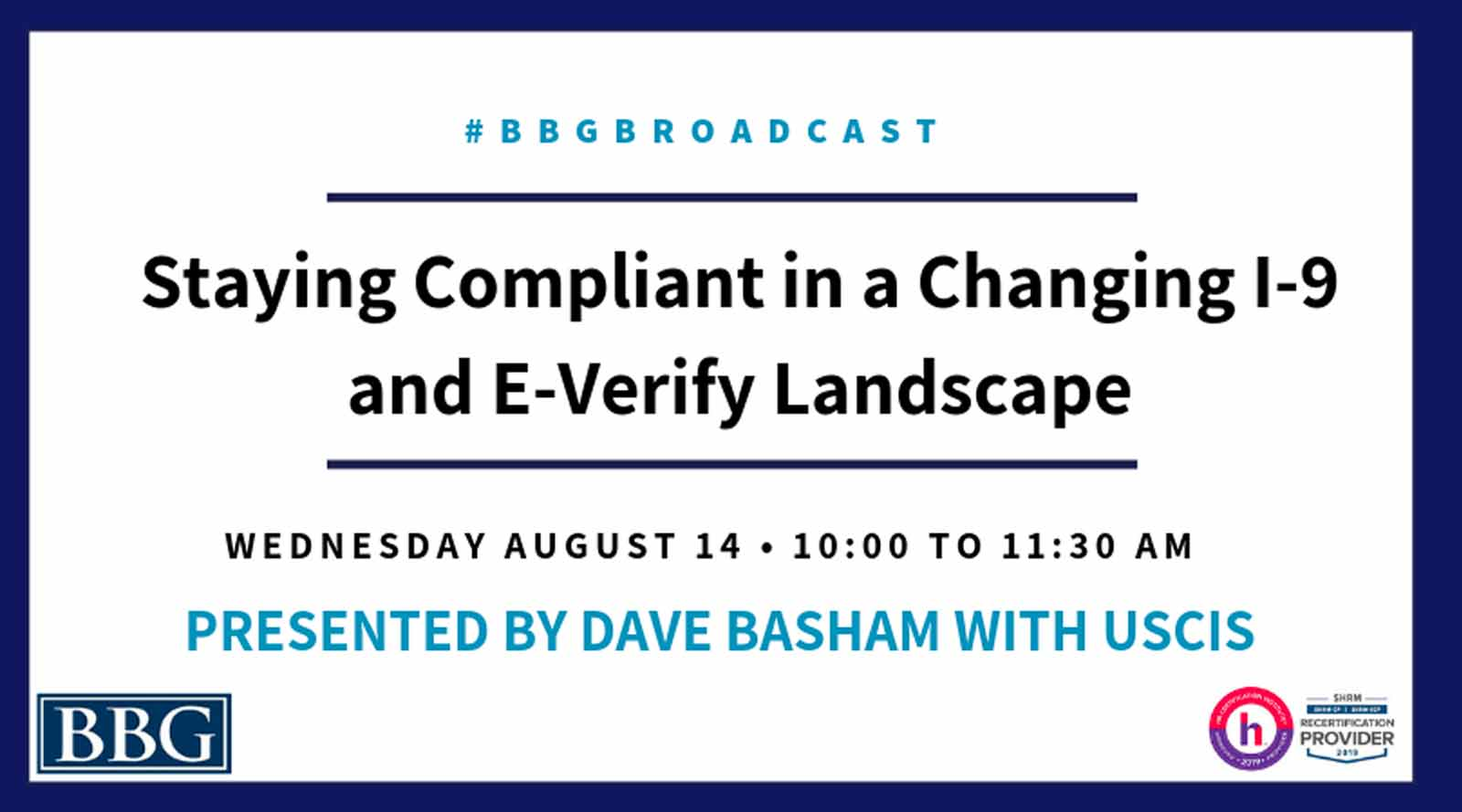 Staying compliant webinar banner