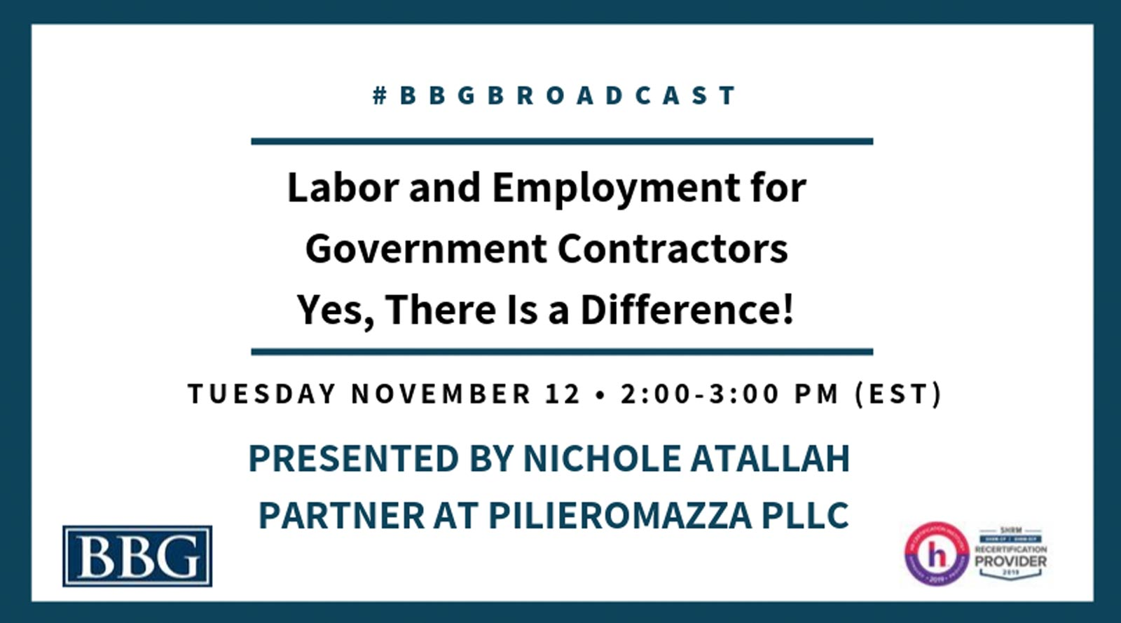 Labor and Employment for Gov Contractors - Nov Webinar