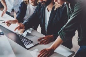 Coworkers choosing passive enrollment