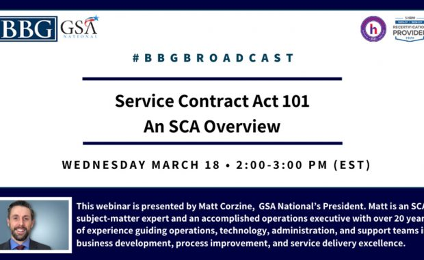 Service Contract Act 101: An SCA Overview