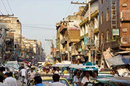Third world country Rawalpindi, Pakistan Raja Bazaar
