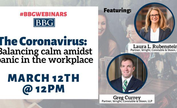 BBG coronavirus webinar