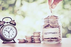 Jar for retirement planning