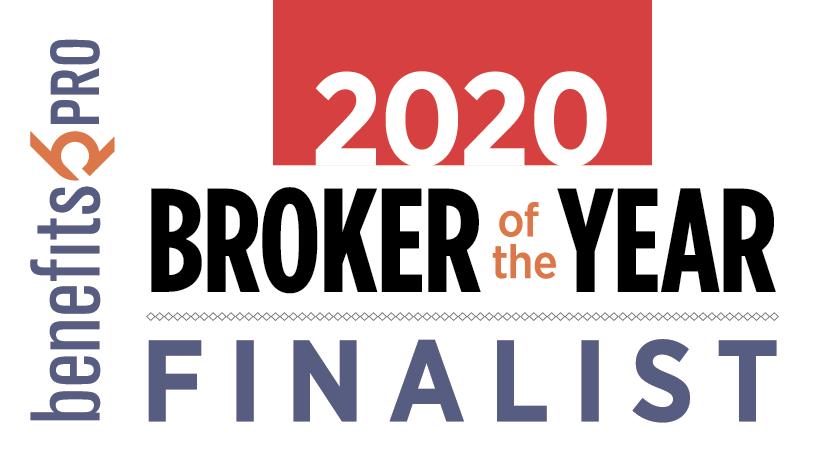 2020 Broker of the Year finalist award