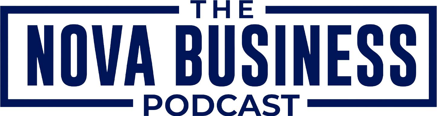 The NOVA Business Podcast logo