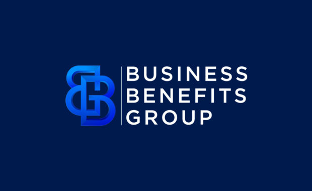 Business Benefits Group — new logo with blue background