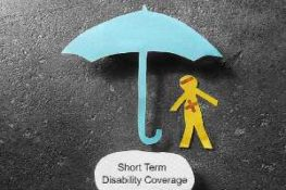 a collage depicting short term disability insurance