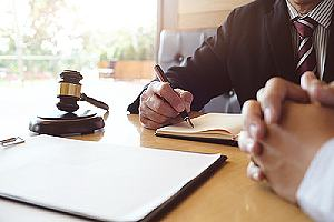 Legal counsel and client. Not all non profit liability insurance policies cover the actions of it's people