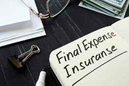 Final expense insurance note