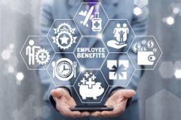 employee benefits career concept