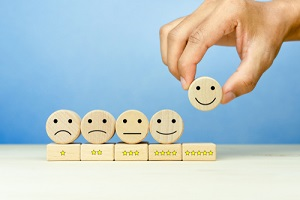 customer service evaluation and satisfaction survey concepts
